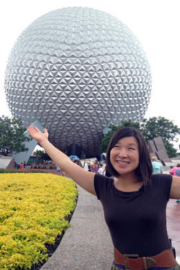 Epcot Center! , Jules & Brock - July 2012