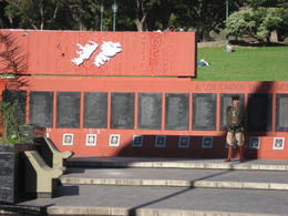 Memorial for the Falklands War, Bandit - June 2012