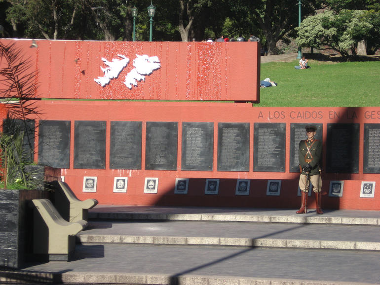Falklands War Memorial - Buenos Aires