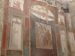 Fresco in Herculaneum , julie.mullins1 - November 2015