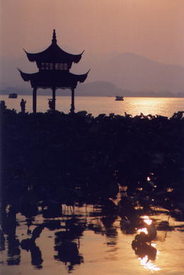West Lake at night - May 2012