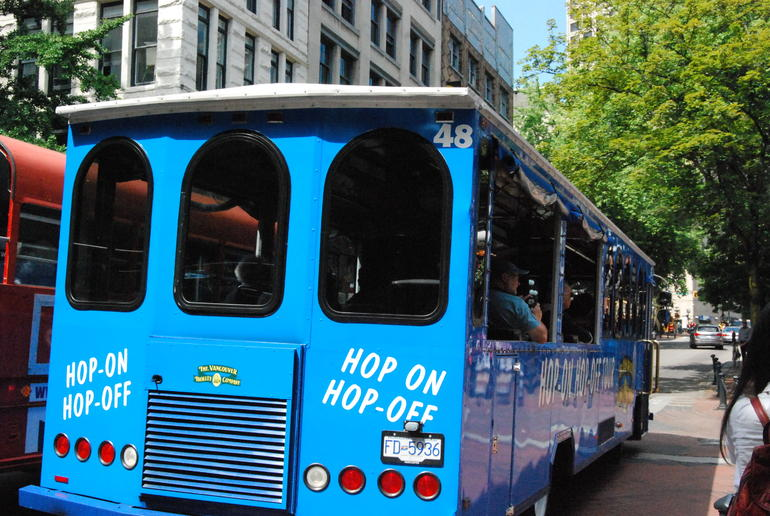 Hop On Hop Off - Blue loop - Vancouver