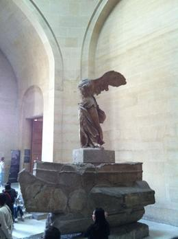 Winged Victory of Samothrace , Dale S - May 2011