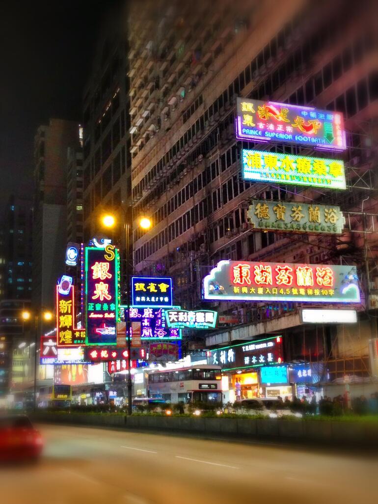 Neon lights of Hong Kong - Hong Kong