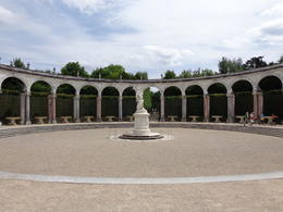 Grove in the gardens of Versailles, dizzledorf - August 2012