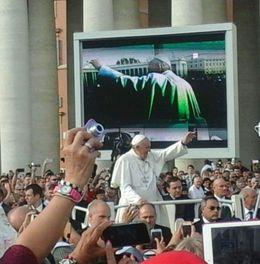 Papa Francisco , Laura Susana M - October 2015