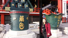 One of the oldest and mostly visited temple is Sensoji which is in busy Asakusa. Really a must-see. , Catherine C - April 2014