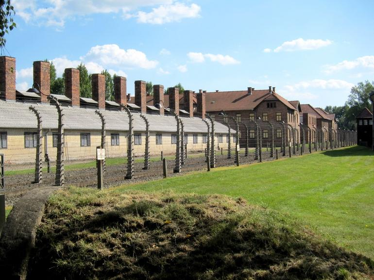 Side View of Auschwitz - Krakow