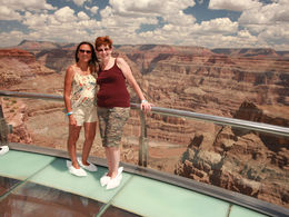 Great time on the Skywalk at the grand Canyon western Rim. , VICTORIA B - August 2016