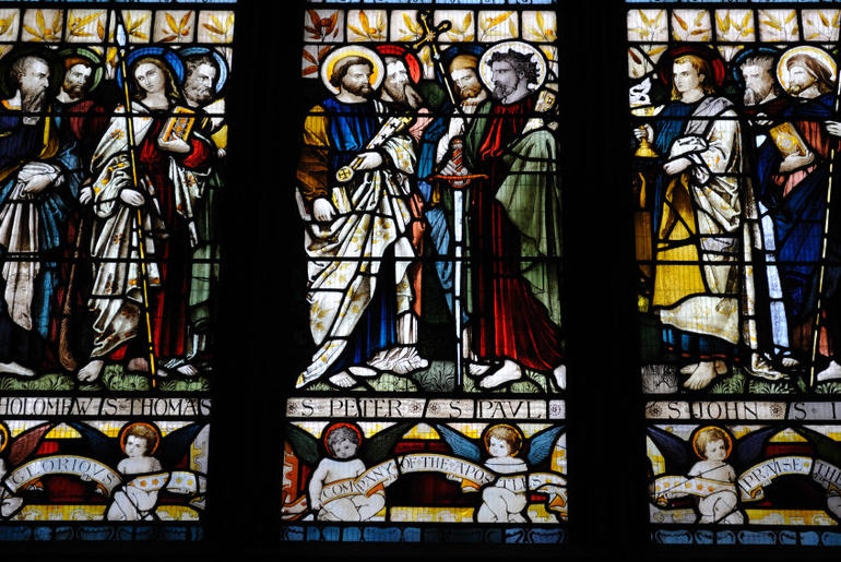 Stained Glass, St Patrick's Cathedral - Dublin