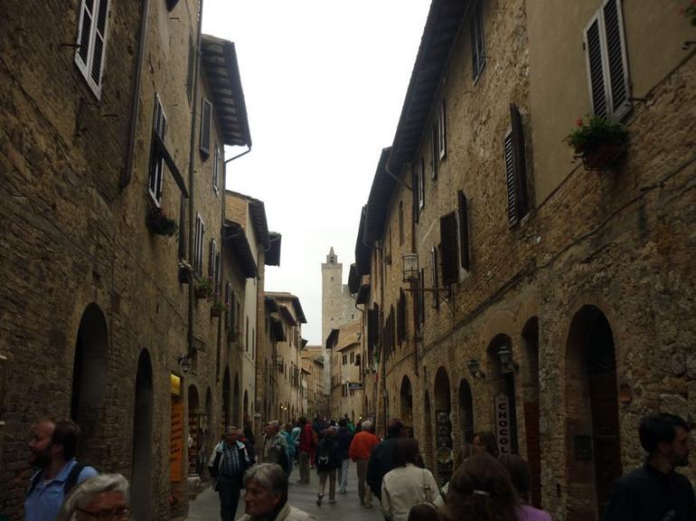 Streets of San Gimignano - Florence