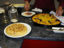 Spanish omelette and paella! , Rebecca G - July 2014