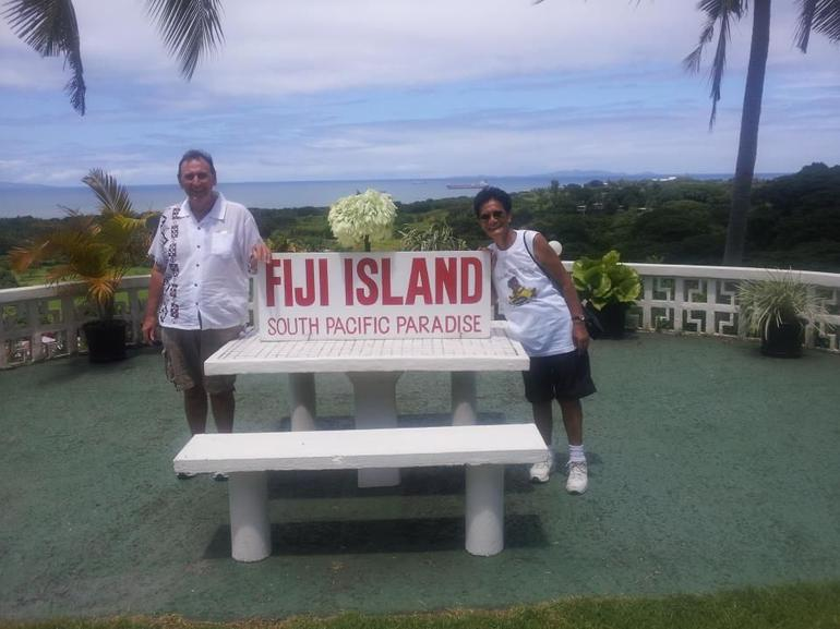 Tommy and Brenda Vuda Lookout 2 Fiji - Nadi
