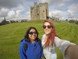 Visiting Trim Castle where Braveheart was filmed! , Katie - July 2016