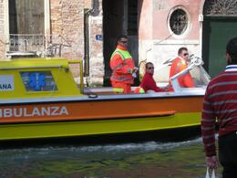 "An ""ambulance"" boat - October 2008"
