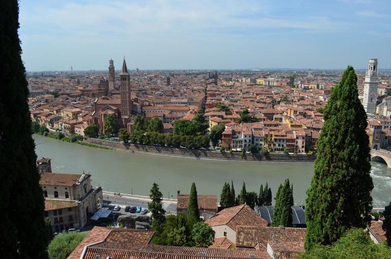 Verona from San Pietro - Verona