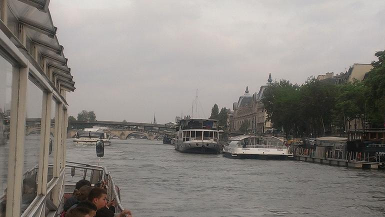View from the river cruise - Paris