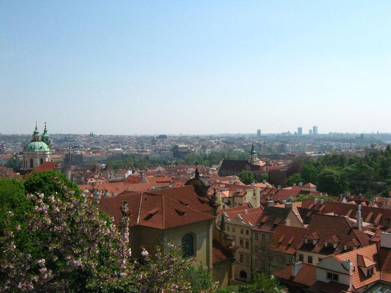 View from the top overlooking Prague - Vienna
