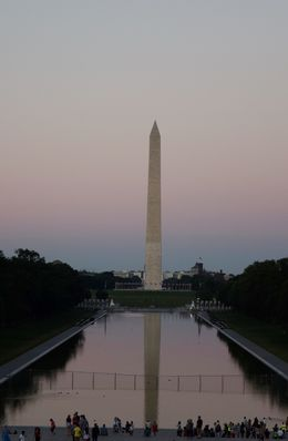 Photo of Washington Monument from the Lincoln Memorial , llsq - July 2016