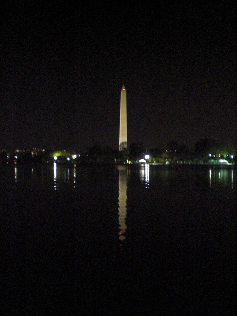 Washington Monument Night - Washington DC