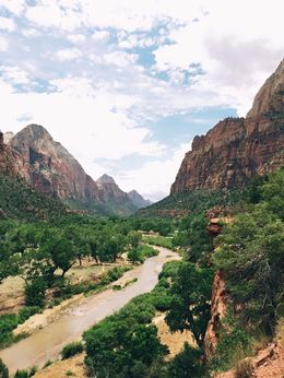 One of the many shots from Zion. , katiefittler - July 2015