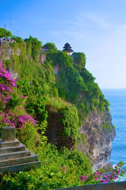 Beautiful cliffs down to the ocean.. , Susan P - June 2017