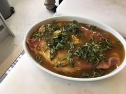 Preparing the pork loin stuffed with chorizo , Randi C - June 2017