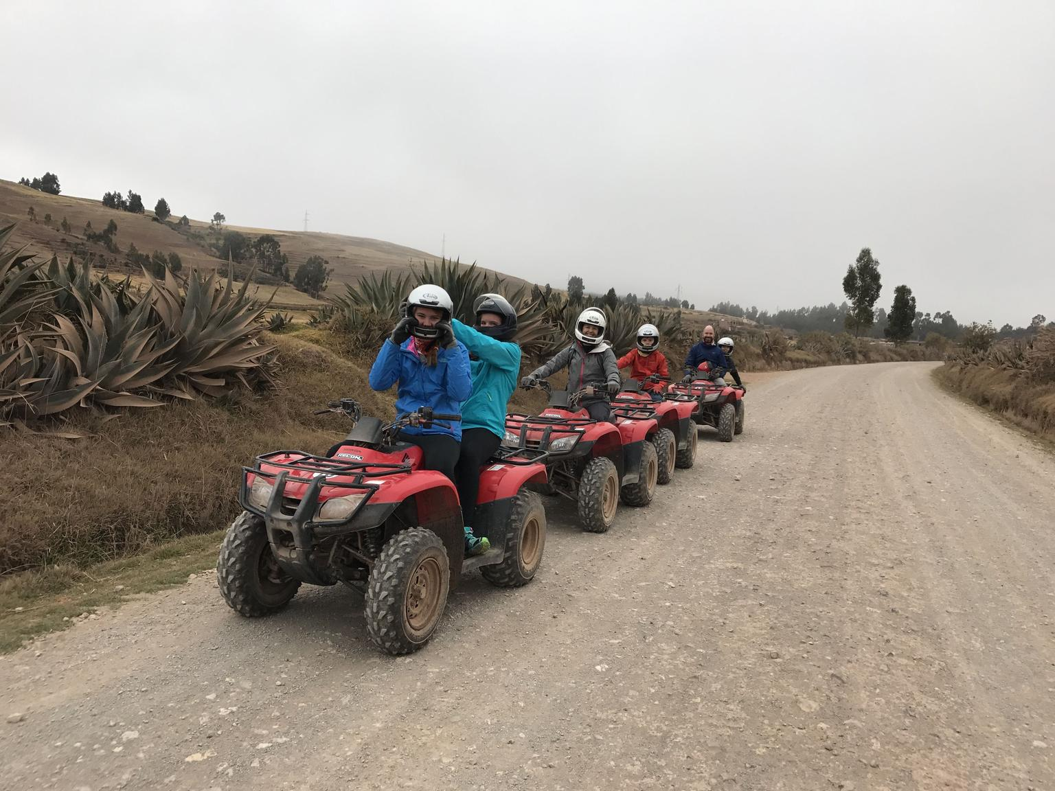 MORE PHOTOS, ATV Tour to Moray, Maras and Salt Flat in the Sacred Valley from Cusco