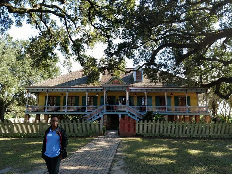 Experience Cajun Country: Swamp Boat Adventure and Plantations Full-Day Tour from New Orleans