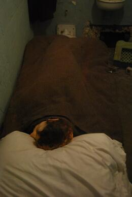An inmate used this dummy in his escape attempt!, Sam B! - April 2014