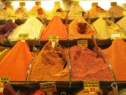 Egyptian Spice Market, Istanbul, Turkey, Patricia P - October 2014