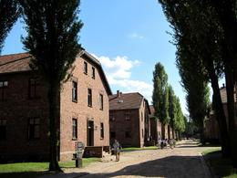 Original buildings from the permanent camp auschwitz one - July 2010