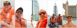Me in front of Atlantis and Burj Al Arab , Petru Rosenthorn - April 2015