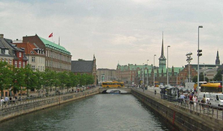 Canal in Copenhagen - Copenhagen
