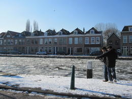 outside of the delft factory , Rose J - February 2012