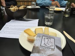 Cheese tasting at Bruny Island Cheese Co , cutiesealion - April 2016