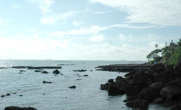 Beautiful secluded beach in Goa - July 2012