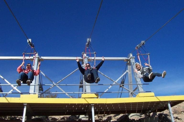 Getting ready to Zip - Las Vegas