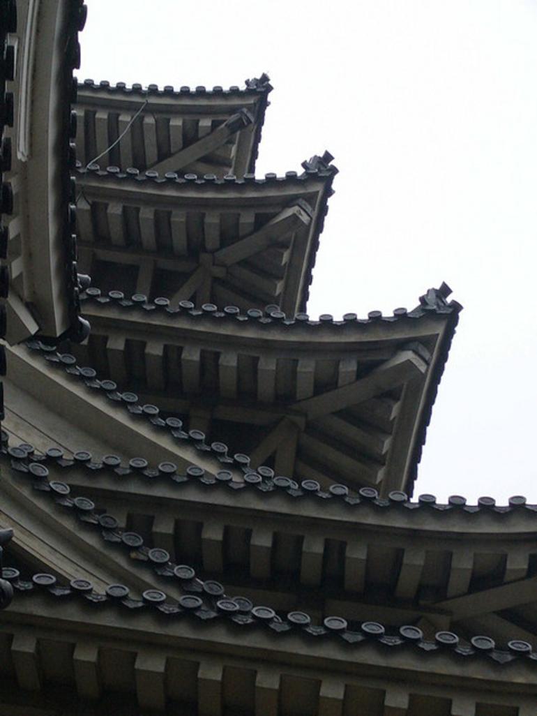 Himeji Roof - Kyoto