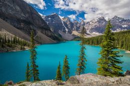 Lake Moraine in all her glory , Martyn I - August 2016