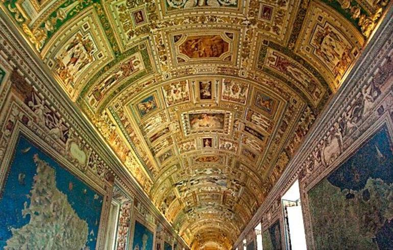 Long Map Gallery, Vatican Museum - Rome