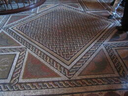 yet another example of the wondeful floors in the Vatican museum , Elizabeth J - November 2011