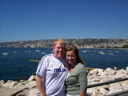 Naples coastline., Michael B - August 2008