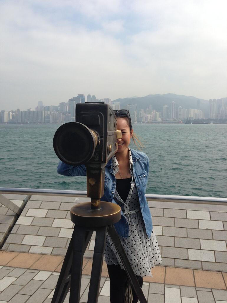 On Avenue of Stars - Hong Kong