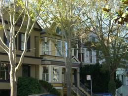 Queen Anne Victorians in Haight-Ashbury, San Francisco, skigirlsf - December 2011