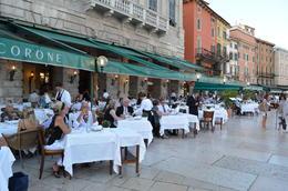 Restaurant in Piazza Bra, Graham Walker - September 2011