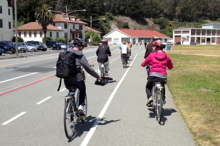 San Francisco Golden Gate Bridge Bike Tour - San Francisco
