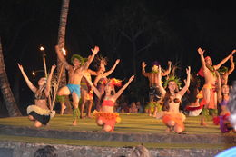 This was the final moment of the luau with everybody there! , lindamtracy - April 2015