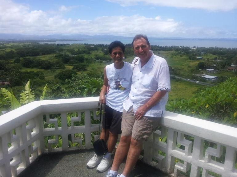 Tommy and Brenda Vuda Lookout Fiji -