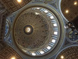 The beauty of St. Peter's basilica , Dorothy A - May 2017